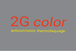 2G color anticorrosion thermolaquage